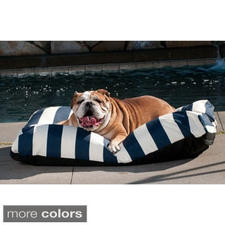 Indoor/ Outdoor Striped Cabana Pet Bed
