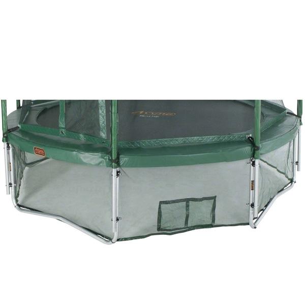 Green 14-foot Trampoline Safety Skirt