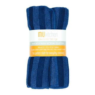 MUkitchen Blue Scrub Cloth (Set of 2)