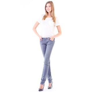 Stitch's Women's The Fox Denim Light Wash Slim Jeans