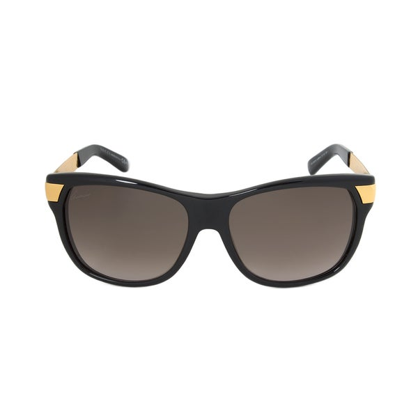 4c1a218218a Shop Gucci Women s GG 3611 S N3BHA Black Yellow Gold 57-16-130 mm ...