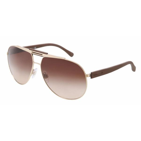 3a662f421d2 Shop Dolce   Gabbana Women s  DG 2119 1190 13  Aviator Sunglasses ...