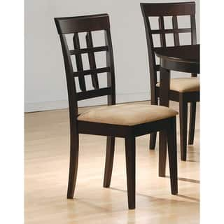 Buy Suede Kitchen & Dining Room Chairs Online at Overstock.com | Our ...