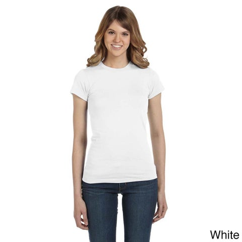 Anvil Women's Semi-sheer Crew Neck T-shirt