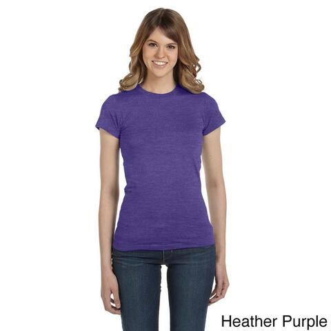 Anvil Women's Semi-sheer Crew Neck T-shirt