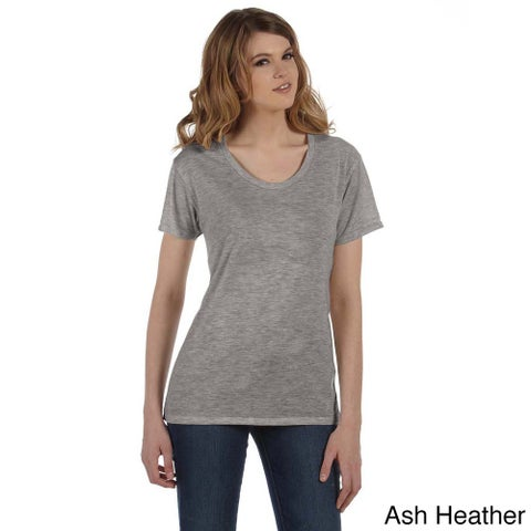 Alternative Women's 'Kimber' Burnout Scoop Neck T-shirt