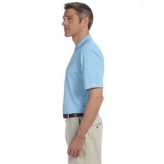 Ashworth Men's Performance Interlock Stripe Polo Shirt