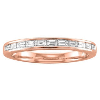 Link to Montebello 14KT Gold 1/2ct TDW Baguette-cut Diamond Band Similar Items in Wedding Rings