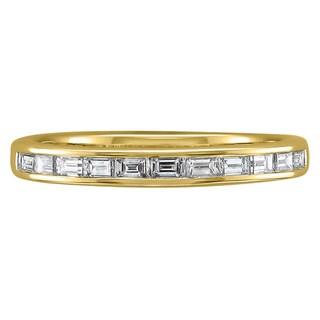 Montebello 14k Gold 1/2ct TDW Baguette-cut Diamond Band (G-H, VS1-VS2)