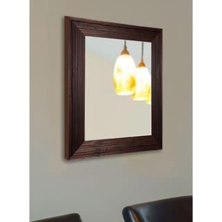 American Made Rayne Rustic Barnwood Wall Mirror