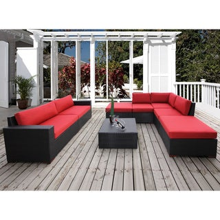 Andover 8-piece Conversation Sectional Seating Set
