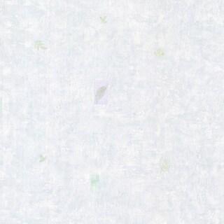 Alice Blue Leaf Toss Wallpaper