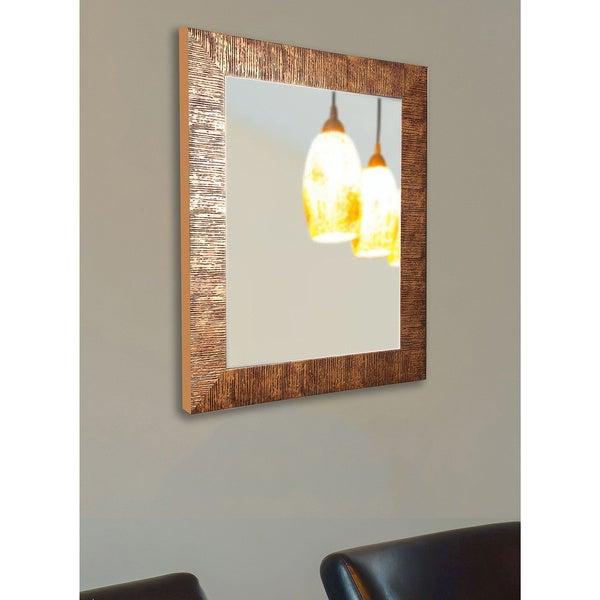 American Made Rayne Lush Safari Bronze Wall/ Vanity Mirror - Bronze/Black