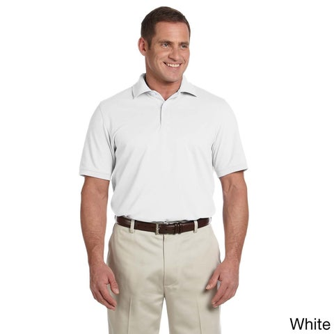 Ashworth Men's Combed Cotton Pique Polo Shirt