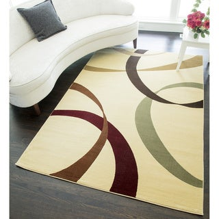 Tape Geometric Area Rug - 5'3 x 7'10