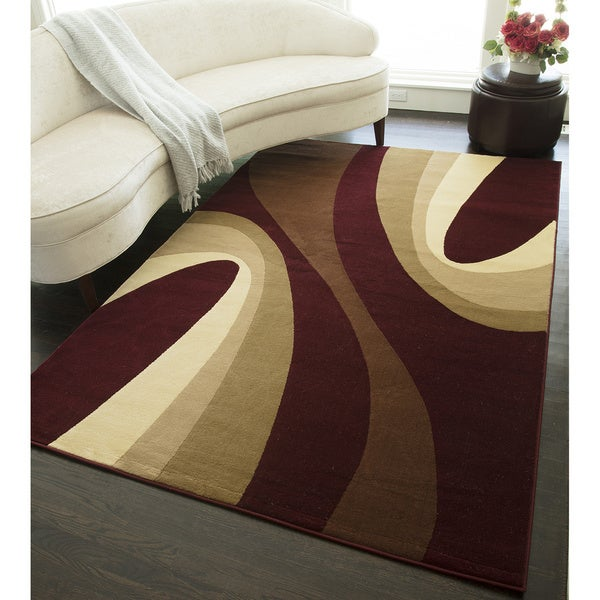Swell Geometric Area Rug - 5'3 x 7'10