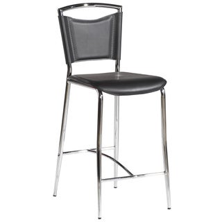Somette Black 30-inch Bar Height Stool (Set of 4)