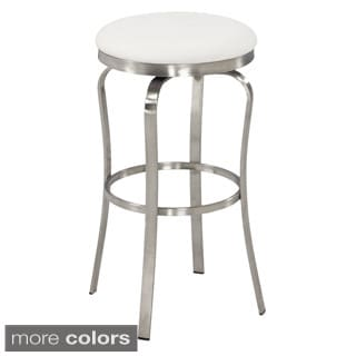 Somette Modern 30-inch Backless Upholstered Bar Stool