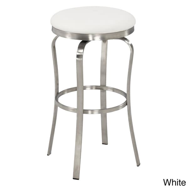 Shop Somette Modern 30 Inch Backless Upholstered Bar Stool
