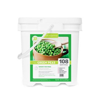 Lindon Farms Freeze-dried Peas (108 Servings)
