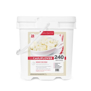 Lindon Farms Freeze-dried Cauliflower (240 Servings)