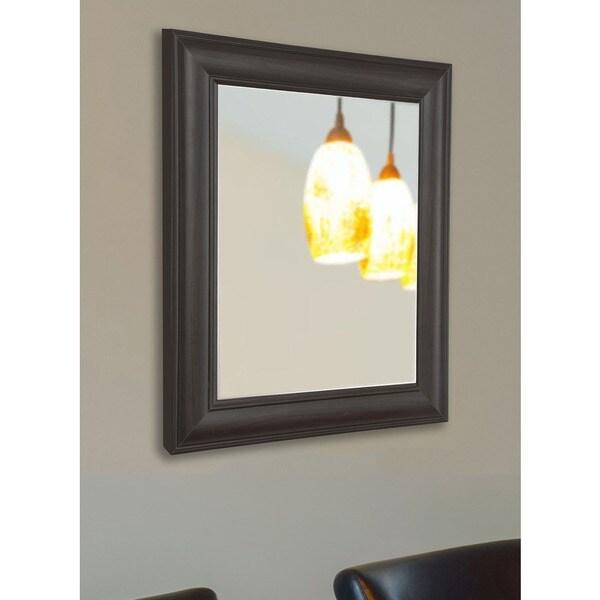 American Made Rayne Dark Walnut Wall/ Vanity Mirror