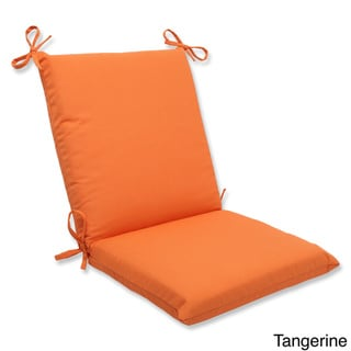 Pillow Perfect Outdoor Solid Squared Corners Chair Cushion with Sunbrella Fabric