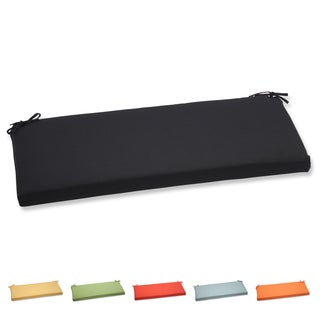 Pillow Perfect Outdoor Solid Bench Cushion with Sunbrella Fabric