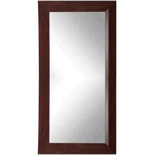 Rayne Walnut Tall Mirror