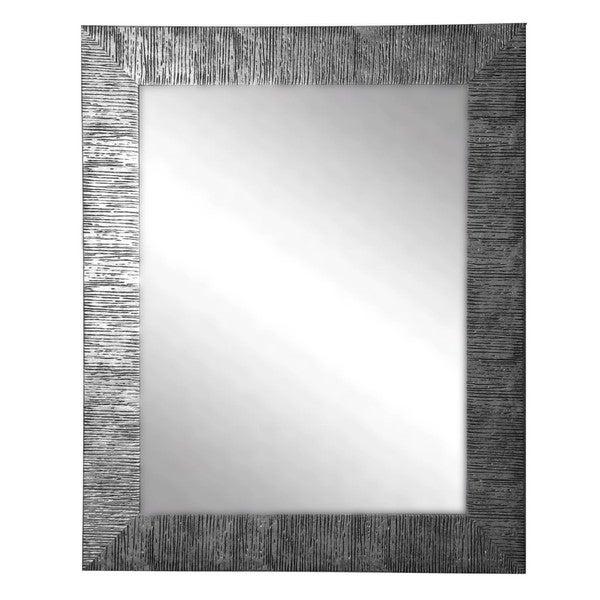 American Made Rayne Silver City Wall Mirror Free