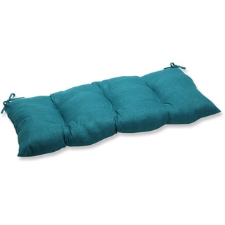 Pillow Perfect Outdoor/ Indoor Rave Teal Swing/ Bench Cushion