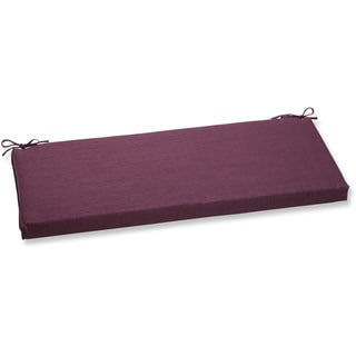 Pillow Perfect Outdoor Purple Bench Cushion