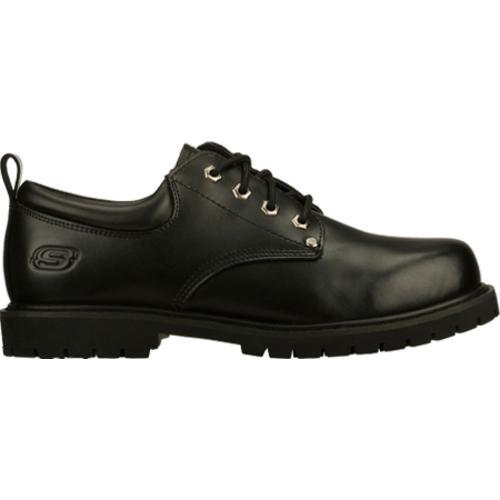 Men's Skechers Work Relaxed Fit Cottonwood Fribble SR Black - Thumbnail 1