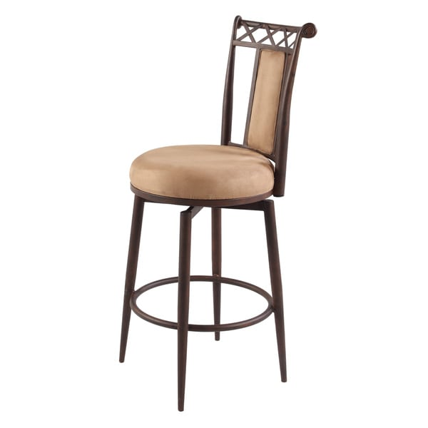 shop somette 26 inch memory return swivel counter stool free shipping today overstock 8912713. Black Bedroom Furniture Sets. Home Design Ideas