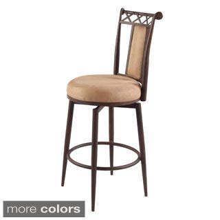 Somette 26-inch Memory Return Swivel Counter Stool