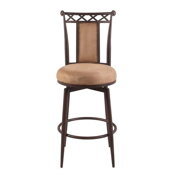Swivel Bar Chair somette 30-inch memory return swivel bar stool - free shipping
