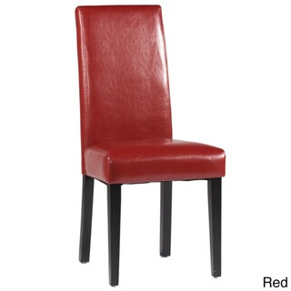 Somette Straight Back Parson Chair (Set of 2)