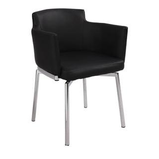 Somette Club Style Modern Swivel Arm Chair (Set of 2)