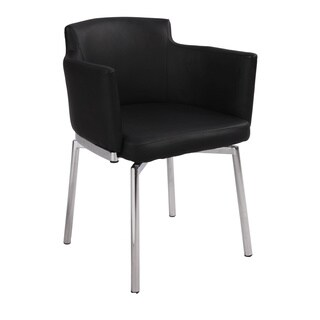 Somette Club Style Modern Swivel Arm Chair (Set of 2) (4 options available)