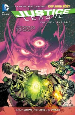 Justice League 4: The Grid (Paperback)