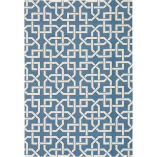 Nourison Home and Garden Indoor/Outdoor Navy Rug (10 x 13)