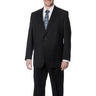 Palm Beach Men's Charcoal 2-button Single Vent Jacket