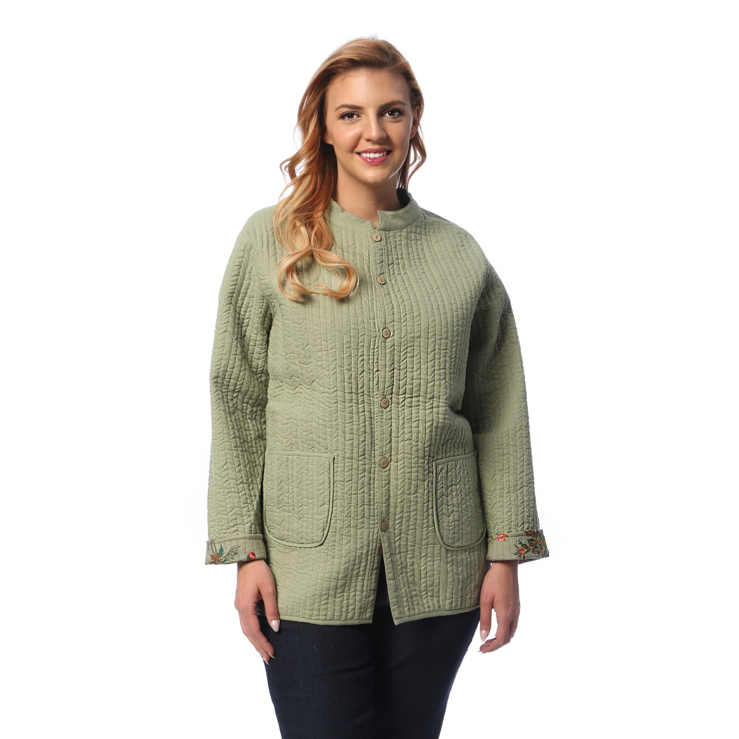 Women's Plus Size Quilted Jacket – Home Image Ideas : quilted jacket plus size - Adamdwight.com