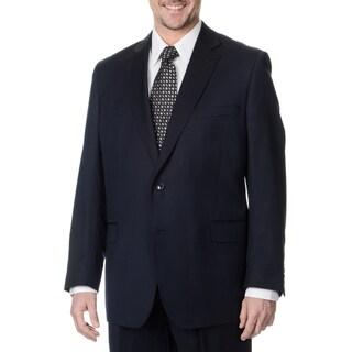 Palm Beach Men's Navy 2-button Single Vent Jacket (2 options available)