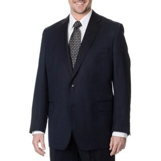 Palm Beach Men's Navy 2-button Single Vent Jacket