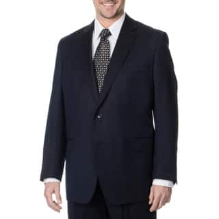 Palm Beach Men's Navy 2-button Single Vent Jacket|https://ak1.ostkcdn.com/images/products/8914830/P16132392.jpg?impolicy=medium