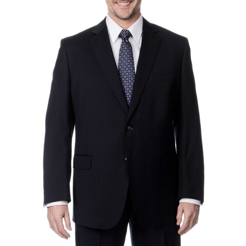 Palm Beach Men's Navy 2-button Single Vent Jacket