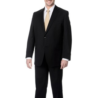 Palm Beach Men's Black 2-button Single Vent Jacket