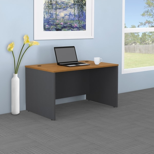 Perfect Bush Business Furniture Series C 48W X 30D Shell Desk
