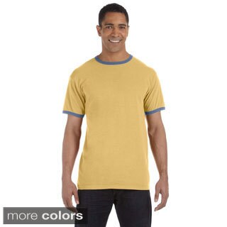 Men's Ringspun Cotton Pigment-dyed Ringer T-shirt